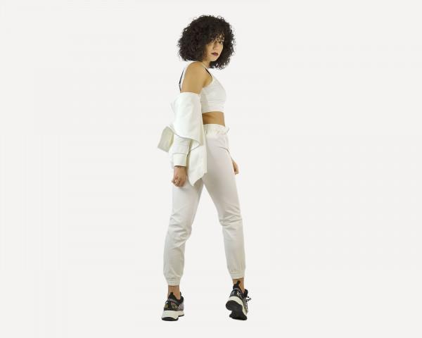 Pantalone Bianco Effetto...