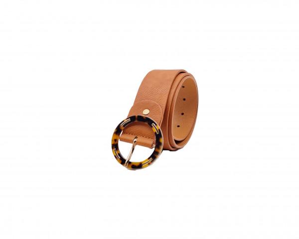 Cintura con fibbia rotonda